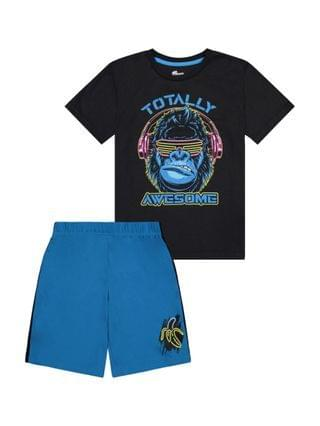 KIDS Little Boys Pajama Shorts Set 2 Piece