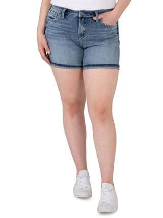 WOMEN Trendy Plus Size Avery High-Rise Shorts