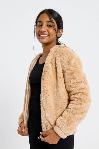 KIDS Fluffy Bomber Jacket