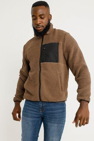 MEN Teddy Fleece Pullover