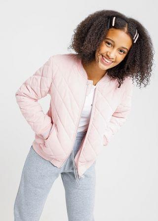 KIDS Quilted Bomber Jacket