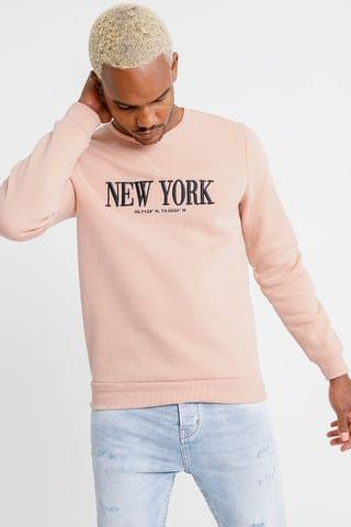 MEN Statement Pullover