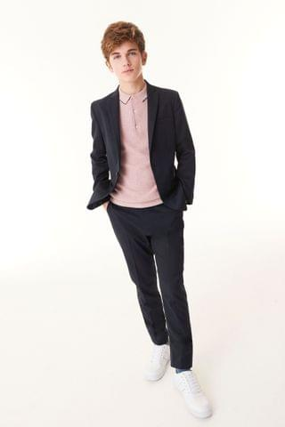 KIDS Navy Skinny Premium Suit Trousers (12mths-16yrs)