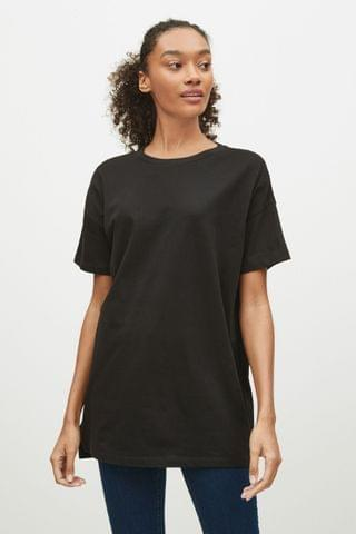 WOMEN Black Oversized T-Shirt