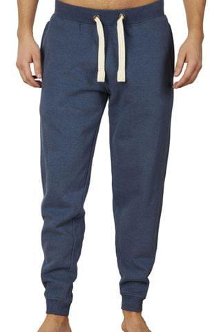 MEN Raging Bull Blue Cuffed Sweatpant