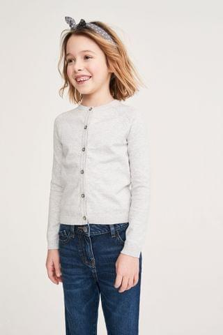 KIDS Grey Cardigan (3-16yrs)