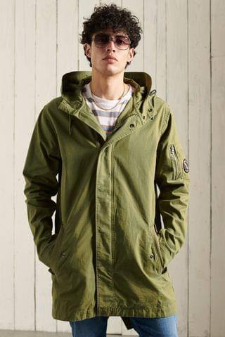 MEN Superdry Service Fishtail Parka