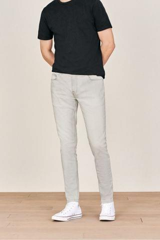MEN Light Grey Jeans With Stretch