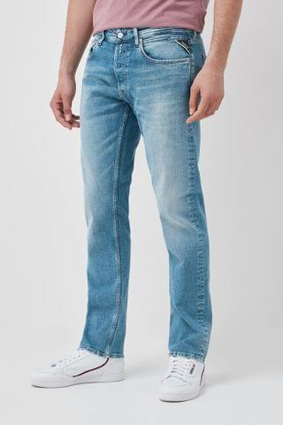 MEN Replay Grover Straight Fit Jeans