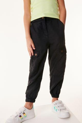 KIDS Charcoal Cargo Trousers (3-16yrs)