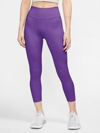 WOMEN Mid-Rise Crop Leggings Nike One Luxe