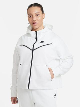 WOMEN Full-Zip Hoodie (Plus Size) Nike Sportswear Tech Fleece Windrunner