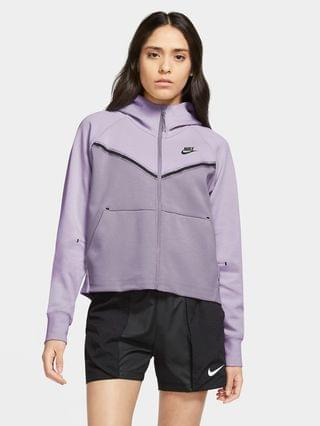 WOMEN Full-Zip Hoodie Nike Sportswear Tech Fleece Windrunner