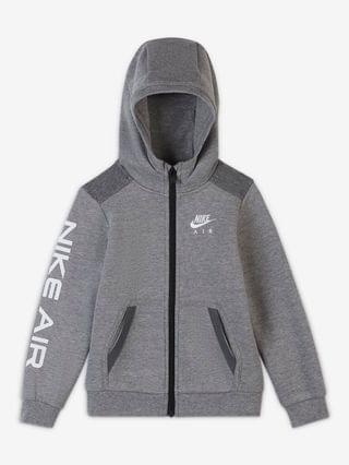 KIDS Toddler Full-Zip Hoodie Nike Air