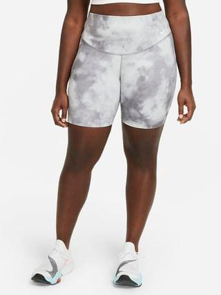 "WOMEN 7"" Printed Shorts (Plus Size) Nike One Icon Clash"
