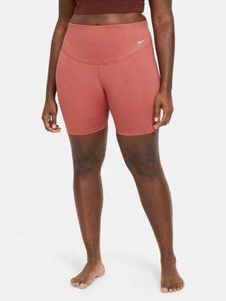 "WOMEN Mid-Rise 7"" Bike Shorts (Plus Size) Nike One"