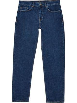MEN Blue relaxed fit jeans