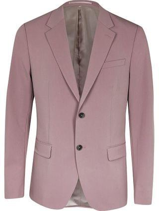 MEN Purple skinny fit blazer