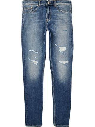 MEN Blue Sid ripped skinny jeans