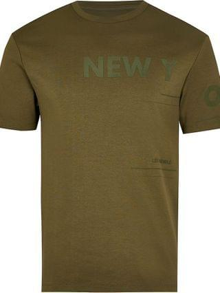 MEN Khaki New York slim fit t-shirt