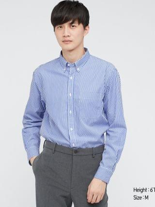 MEN extra fine cotton broadcloth long-sleeve shirt