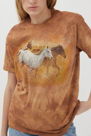WOMEN The Mountain Gold Run Tee