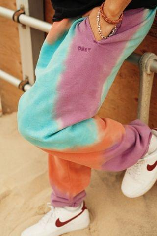 MEN OBEY Sustainable Tie-Dye Sweatpant
