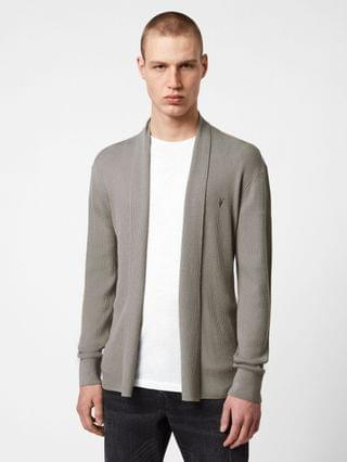 MEN Mode Merino Open Cardigan