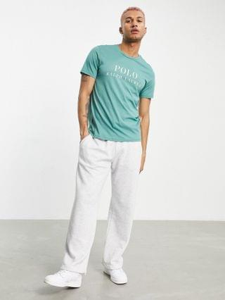 MEN Polo Ralph Lauren x exclusive collab lounge t-shirt in green with chest logo