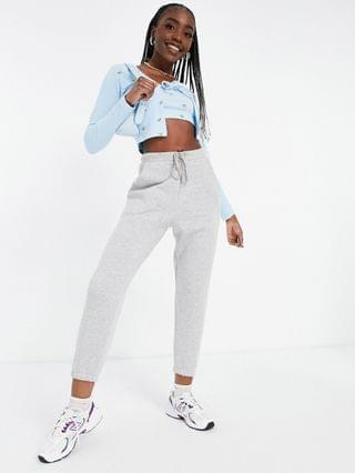 WOMEN Missguided Tall ribbed cardigan & cami crop top set in blue floral
