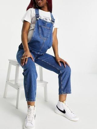 WOMEN Urban Bliss Maternity overalls in mid wash