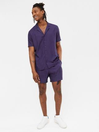 New Look short sleeve shirt with revere collar - part of a set