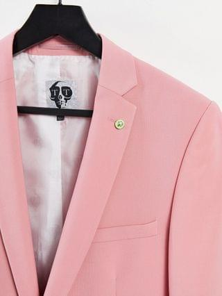 Twisted Tailor suit jacket in rose pink