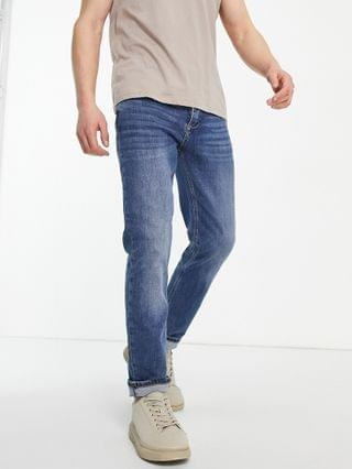 River Island slim fit jeans in blue