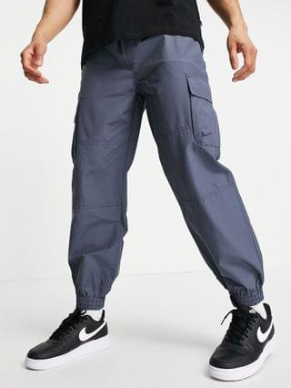 New Look relaxed fit tech sweatpants in dark blue