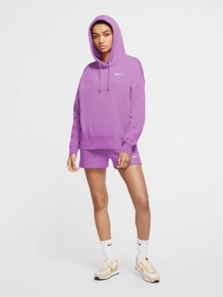WOMEN Nike Trend Fleece hoodie in purple
