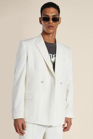 MEN Relaxed Man Branded Db Suit Jacket