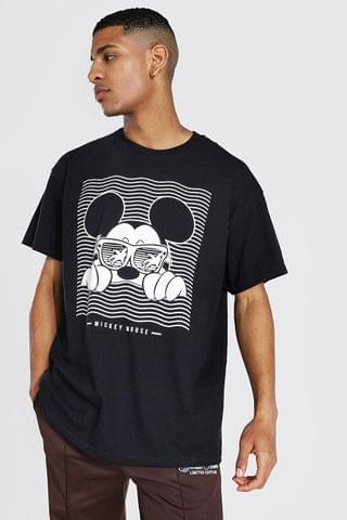 MEN Oversized Mickey Mouse License T-shirt