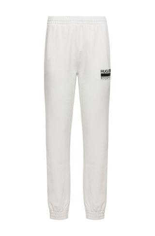 WOMEN Relaxed-fit tracksuit bottoms in Recot2 French terry cotton