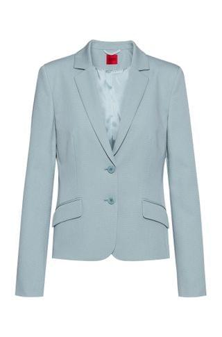 WOMEN Regular-fit cropped jacket in midweight stretch fabric