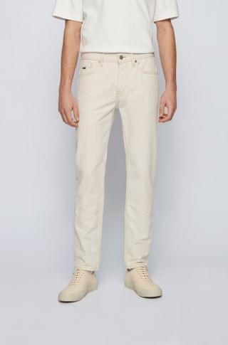 MEN Tapered-fit jeans in two-tone comfort-stretch denim