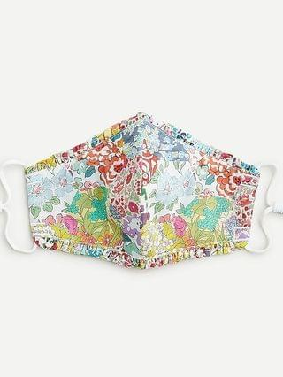 KIDS Kids' nonmedical ruffle-trim face mask in Liberty floral