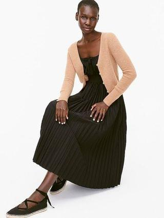 WOMEN Limited-edition cropped featherweight cashmere cardigan