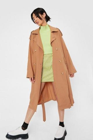 WOMEN Relaxed Trench Coat