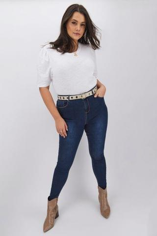 WOMEN Simply Be Chloe High Waisted Skinny Jeans