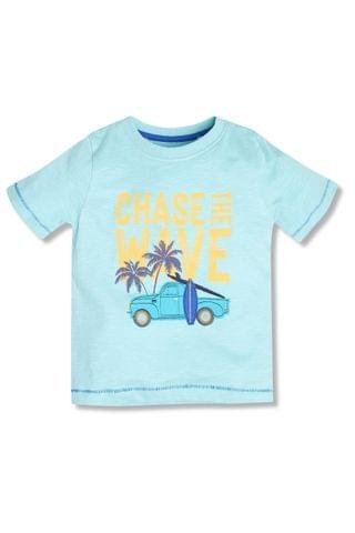 KIDS M&Co Blue Chase The Waves T-Shirt