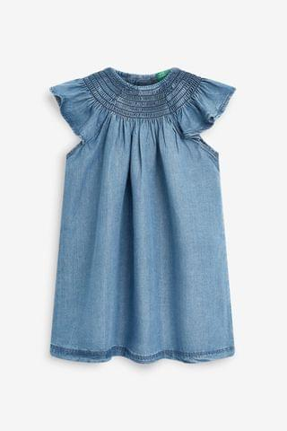 KIDS Benetton Denim Swing Dress