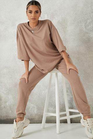 WOMEN Missguided Coord Oversized T Shirt And Jogger Set