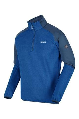 MEN Regatta Blue Highton Half Zip Fleece