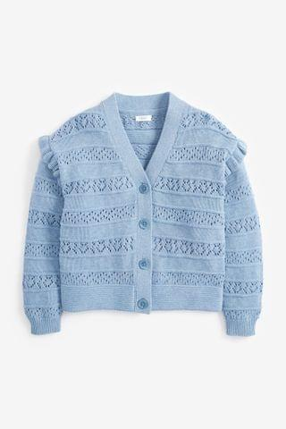 KIDS Blue Cardigan (3-16yrs)